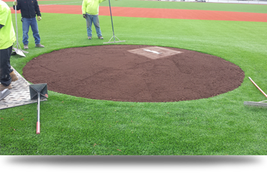 Professional Pitching Mound