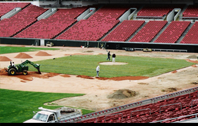 Infield Construction